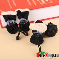 Водонепроницаемая Обувь для собак Обувь для собак теплые сапожки для щенков носки 8C15S1