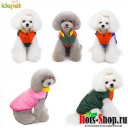 2019 теплая одежда для домашних животных, одежда для собак, одежда для маленьких курта для собак, одежда для щенков, одежда для больших собак, хлопковый жилет, одежда 30