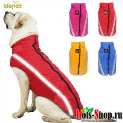 Водонепроницаемая одежда для собак зимние теплые большие собаки куртки флисовый куртка, светоотражающий логотип собака Костюмы 20