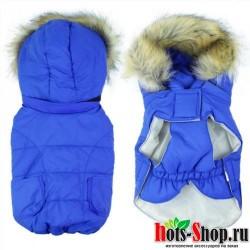 Зимняя одежда для собак пальто кошек зимний толстовка с капюшоном 25