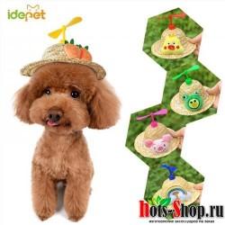 Милая шляпа для животных маленькие аксессуары для собак походные товары для животных, маленькие/большие шляпы для собак 514140