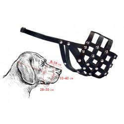 Намордник кожаный для собак средних пород
